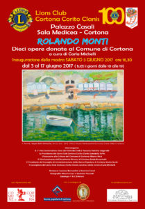 Rolando Monti a Cortona
